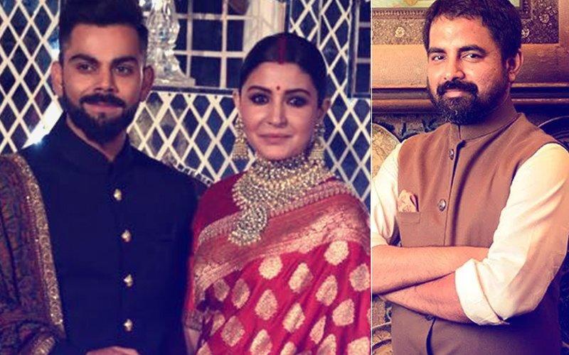 """I Received FLAK For Anushka Sharma's Delhi Reception Outfit,"" Says Fashion Designer Sabyasachi"