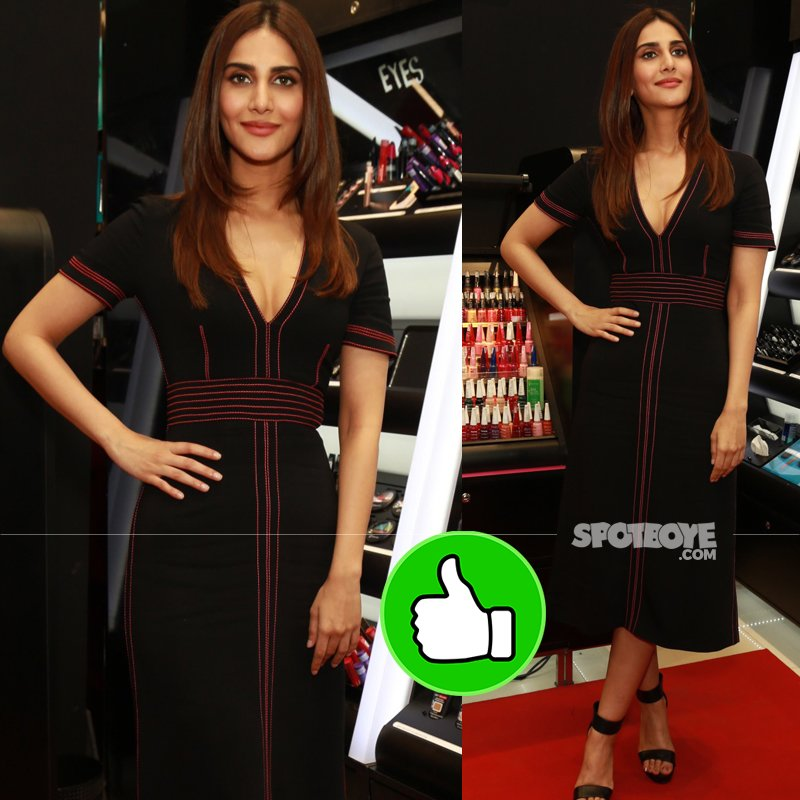 vaani kapoor at a cosmetic store launch