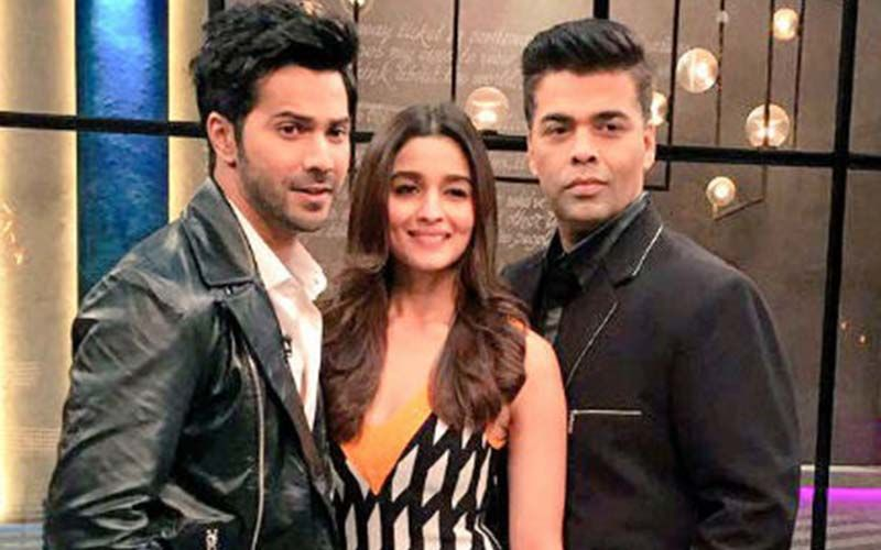 Happy Father's Day: Karan Johar And His Students Varun-Alia Wish Their Dads
