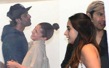 Ranbir Kapoor-Alia Bhatt And Varun Dhawan-Natasha Dalal's Movie Date - Pics And Video Inside