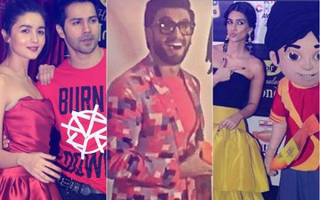 Back To School: Varun Dhawan, Alia Bhatt, Ranveer Singh & Kriti Sanon Enjoy A Fun Evening...