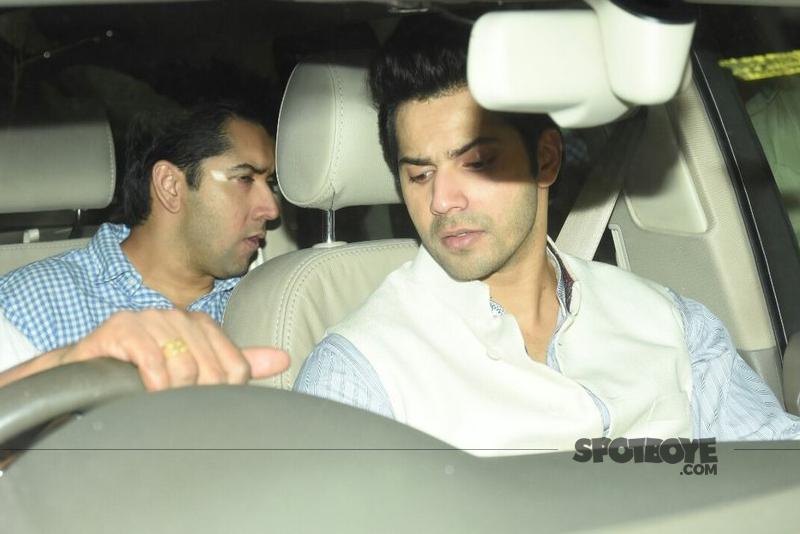 varun dhawan and brother rohit dhawan