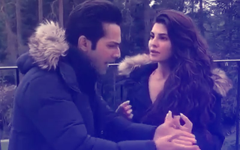 When Varun Dhawan Had To Discipline Jacqueline Fernandez On The Sets Of Judwaa 2