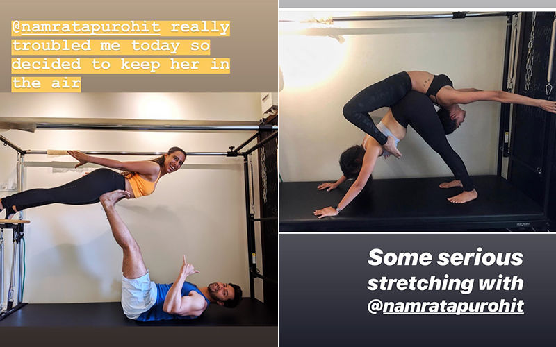 Varun Dhawan And Malaika Arora's Pictures Are Pure Workout Goals