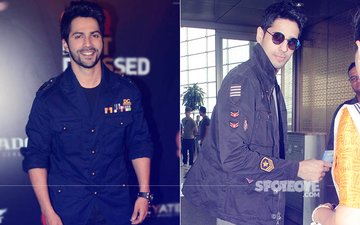 Varun Dhawan & Sidharth Malhotra Love Badge Jackets BUT Who Wore It Better?