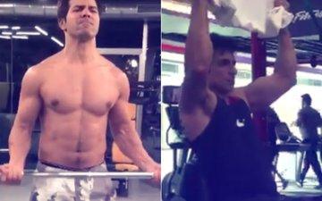 Workout Wednesday: Varun Dhawan & Sonu Sood Flaunt Their Core Strength
