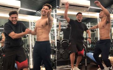 Varun Dhawan Jams On Tum To Thehre Pardesi With His Buddy In A Gym, Says: 'I Ain't Classy' – Watch The Hilarious Video