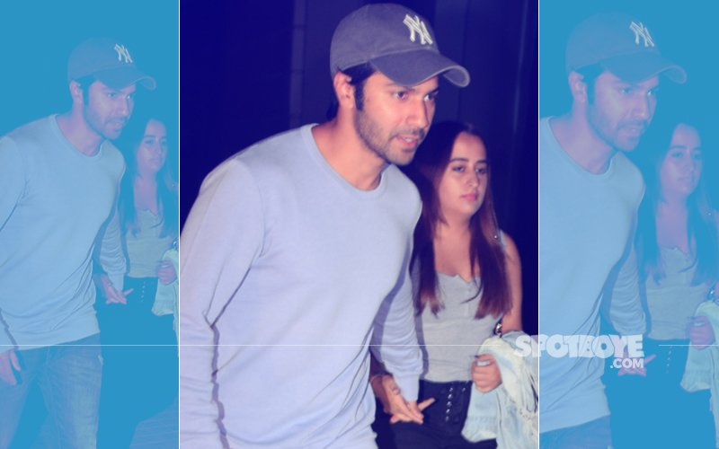 Varun Dhawan Enjoys Movie Date With Girlfriend Natasha Dalal