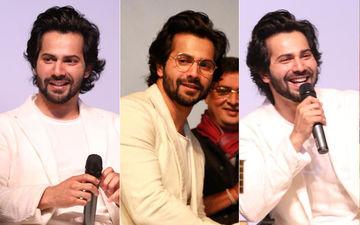 गोवा फिल्म फेस्टिवल में पहुंचे अभिनेता वरुण धवन, देखिए तस्वीरें