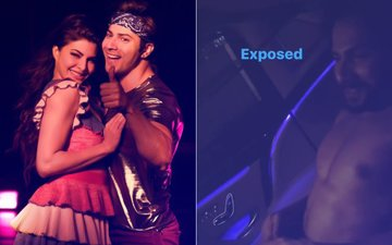 CAUGHT! Varun Dhawan Changes Clothes In Jacqueline Fernandez's Car