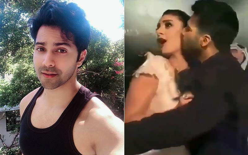 Naughty Varun Dhawan Steals A Kiss From A Hot Award Show Hostess; Takes Her By Surprise – Watch Throwback Video