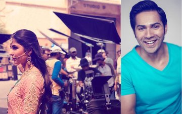 Varun Dhawan's Take On Katrina Kaif's Ethnic Look From The Sets Of Zero Will Leave You In Splits