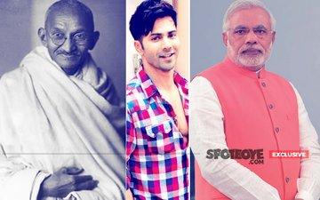 Varun Dhawan Seeks Mahatma Gandhi & Narendra Modi's Blessings For Sui Dhaaga