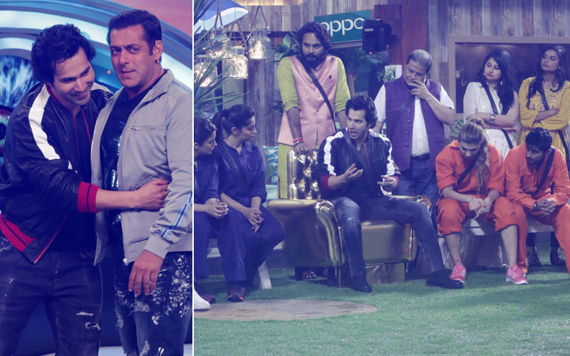 Bigg Boss 12, Day 7 Preview: Varun Dhawan Takes Salman Khan's Weekend Ka Vaar To Another Level
