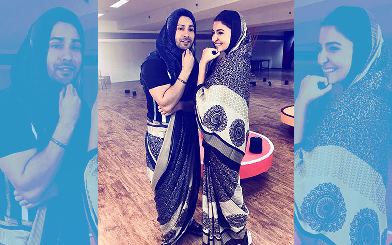 Varun Dhawan Recreates Chachi 420 Moment With Anushka Sharma. The Sui Dhaaga Jodi Is On Fire!