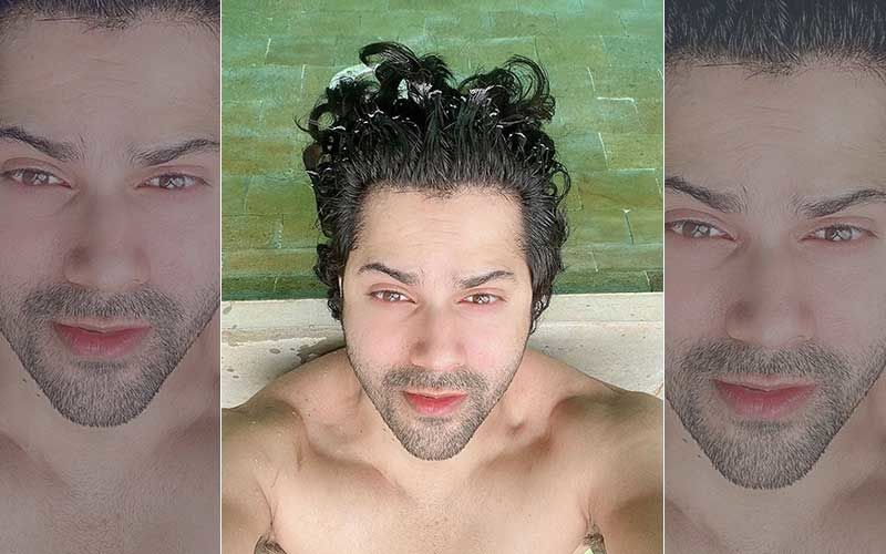 Varun Dhawan's Upside Down Picture Of His Handsome Self While Waiting For COVID-19 Vaccine Is All Of US Right Now