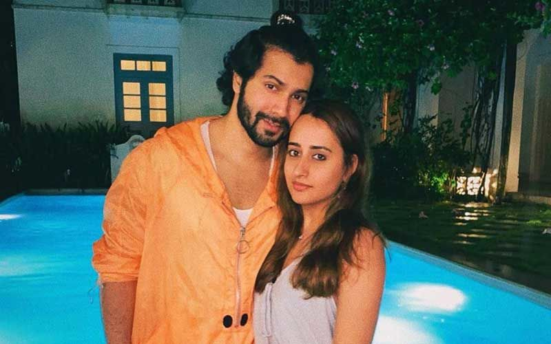 Soaking In Love Varun Dhawan-Natasha Dalal Dole Out Major Relationship Goals; We're All Hearts For Their Pool Side Picture