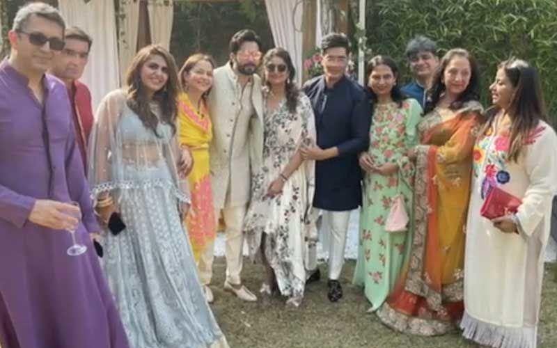 Designer Manish Malhotra Shares Golden Moments From Varun Dhawan-Natasha Dalal's Wedding; These Family Snaps Are Too Gorgeous To Be Missed