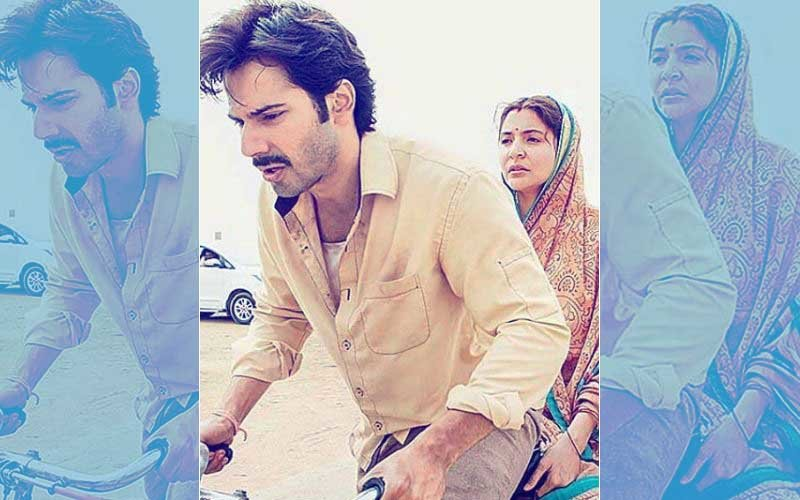 On-The-Sets Of Sui Dhaaga: Varun Dhawan Cycles For 10 Hours With Anushka Sharma