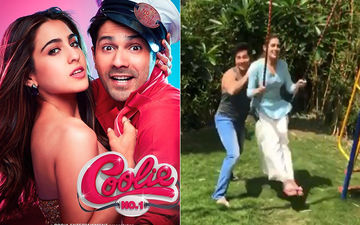 Coolie No 1: Varun Dhawan And Sara Ali Khan Are Having 'Fun In The Sun' In This Boomerang Video