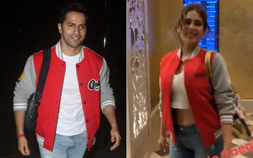 Coolie No. 1's Thailand Schedule: Movie Goes On The Floors, Varun Dhawan And Sara Ali Khan Wear Matching Coolie No. 1 Jerseys