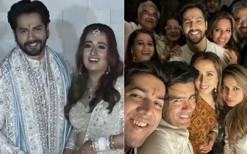 Varun Dhawan-Natasha Dalal Wedding: Designer Manish Malhotra Dressing Up VD For Baarat And More Pics From D-Day Surface On Social Media – See Inside