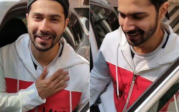 Varun Dhawan Asked By Paparazzi For A Picture, He Jokingly Replies 'Sharam Kar'- VIDEO