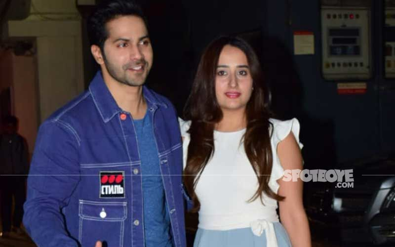 Varun Dhawan- Natasha Dalal Are Now Man And Wife; Couple Ties The Knot With Phera Ceremony; Send Ladoo For The Waiting Media