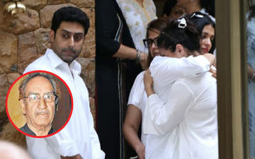 Veeru Devgan Demise: Kajol Breaks Down In Aishwarya Rai's Arms- Watch Video
