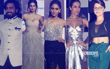 Manveer Gurjar, Mouni Roy, Krystle D'Souza, Malaika Arora, Rubina Dilaik & Many Others At Viacom's 10 Year Celebration Party