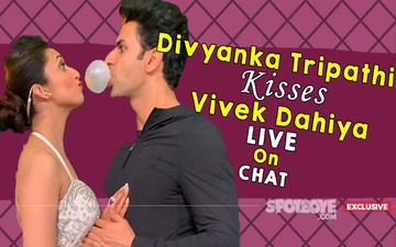 WATCH: Divyanka Tripathi KISSING Vivek Dahiya LIVE And Couple Sharing SECRETS Only Here- EXCLUSIVE