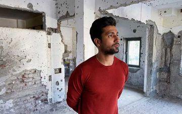 Mumbai 26/11 Terror Attack: Vicky Kaushal Visits Terror Target Nariman House On The 12th Anniversary; Firing Marks Still Look Fresh