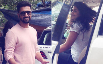 Vicky Kaushal And Harleen Sethi Go Public About Their Affair, View Pics