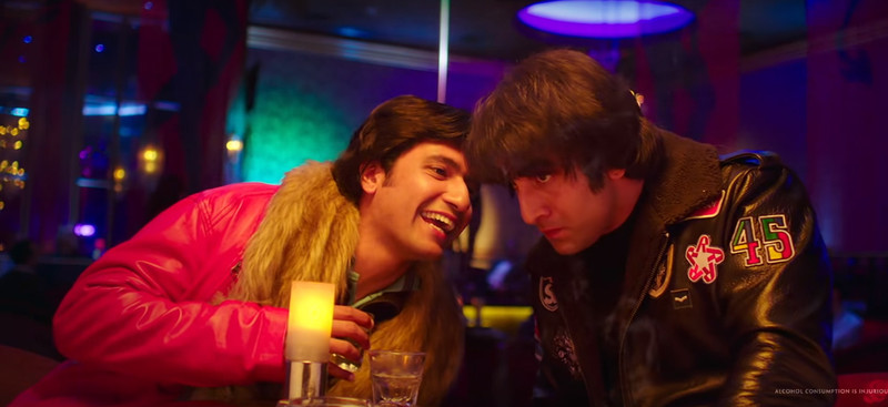vicky kaushal and ranbir kapoor in sanju