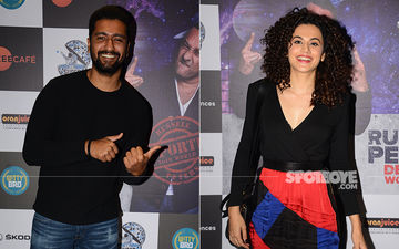 Vicky Kaushal, Taapsee Pannu Attend Russell Peter's Comedy Show