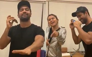 Punjabi Munda Vicky Kaushal Grooving To Patola In The Gym Is A Must Watch