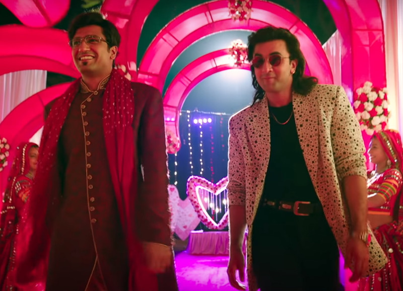 vicky kaushal with ranbir kapoor in sanju