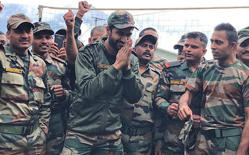 Vicky Kaushal Spends Time With The Jawans: Uri Actor Is Elated