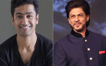 Vicky Kaushal Hides Behind The Curtain At Shah Rukh Khan's House; Reveals The 'Embarrassing' Moment