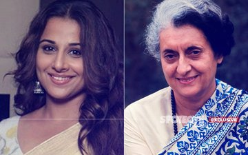 Vidya Balan As Indira Gandhi, Not A Film But Web Series