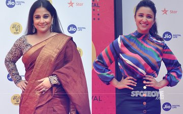 Vidya Balan and Parineeti Chopra Grace The Jio MAMI Film Festival Red Carpet