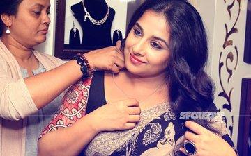 Vidya Balan Flashes Her Million Dollar Smile At An Event In Delhi