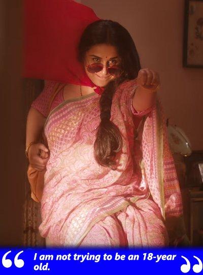 vidya balan plays an rj in tumhari sulu