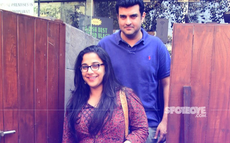 Vidya Balan Celebrates Filmfare Win Over Lunch Date With Hubby Siddharth Roy Kapur