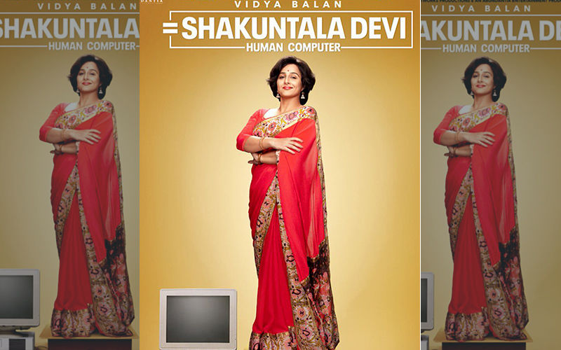 Vidya Balan In And As The Math Genius In Shakuntala Devi – Human Computer, Film To Release In Summer Of 2020