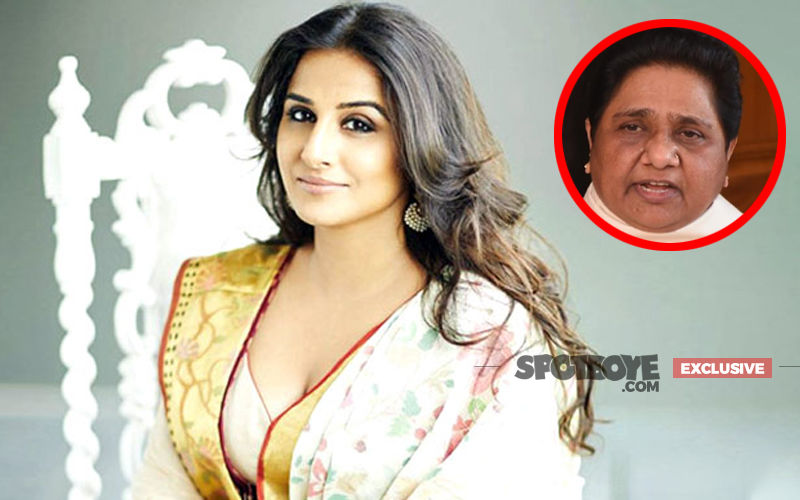 Vidya Balan Is NOT Doing The Mayawati Biopic- Exclusive
