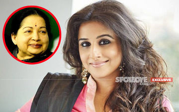 Why Vidya Balan Chose To Not Play Jayalalithaa
