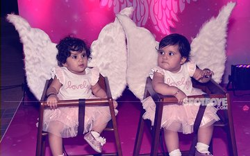 Karanvir Bohra and Teejay Sidhu Celebrate Their Kids' First Birthday