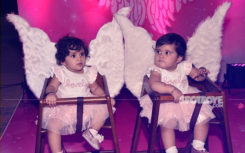 Karanvir Bohra and Teejay Sidhu Celebrate Their Kids' First Birthday