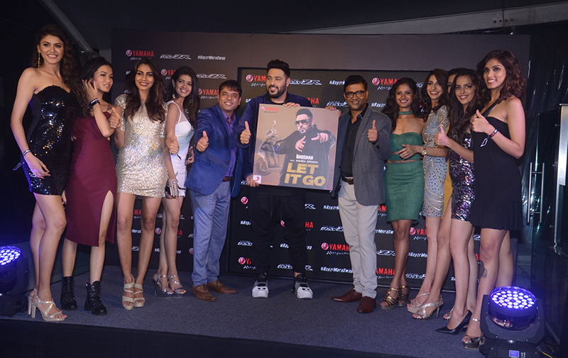 vijay kaul badshah roy kurian at the song launch let it go